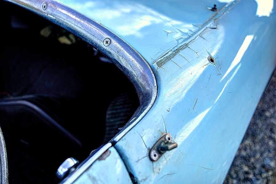 Austin-Healey Sprite擁有造型獨特的車頭燈,故又有「蟹眼」之稱。