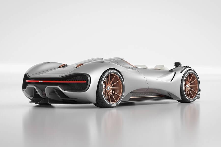 Coupe出完,換出Spyder,看來Ares Design對於超跑市場的吸金大法也是略懂略懂。