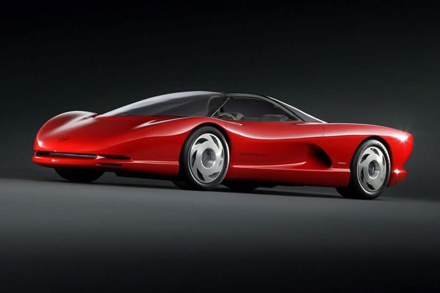 在瘋狂的八零年代,各大車廠對於概念車的想法似乎也愈加大膽……